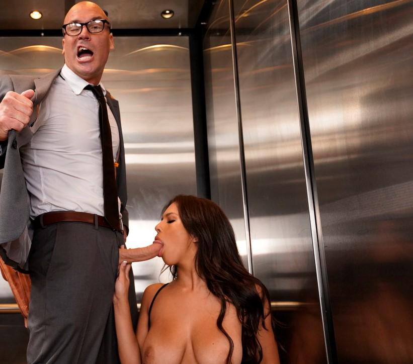 Kuřba ve výtahu